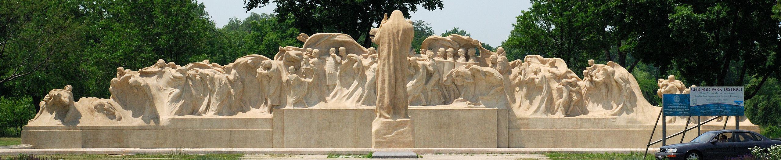 Fountain of Time – Lorado Taft – Eternal Silence – Henry Graves