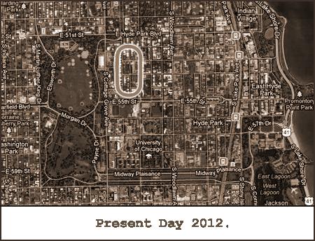 Garden City Map Modern